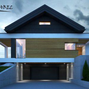 dom jednorodzinny w Bukowie