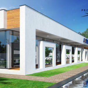 budynek biurowo produkcyjno magazynowy w Olkuszu