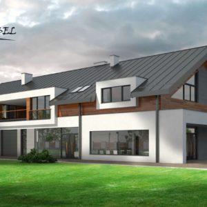 budynek mieszkalno usługowy w Osieczanach