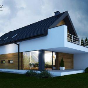 dom jednorodzinny w Osieczanach(1)