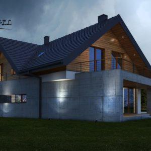 dom jednorodzinny w Krakowie(3)