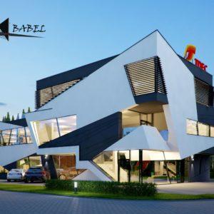 budynek biurowy w Skawinie