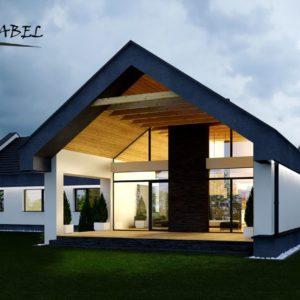 dom jednorodzinny w Myślenicach(1)