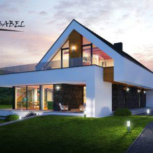dom jednorodzinny w Stróży