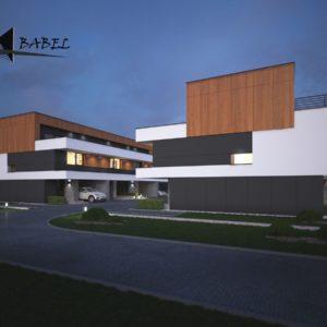 osiedle domów jednorodzinnych w Krakowie